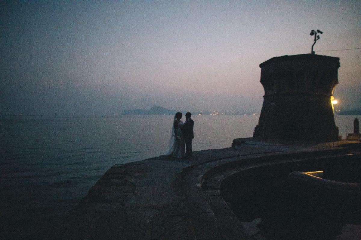 Lake Garda destination wedding photographer. Wedding photographer in Italy