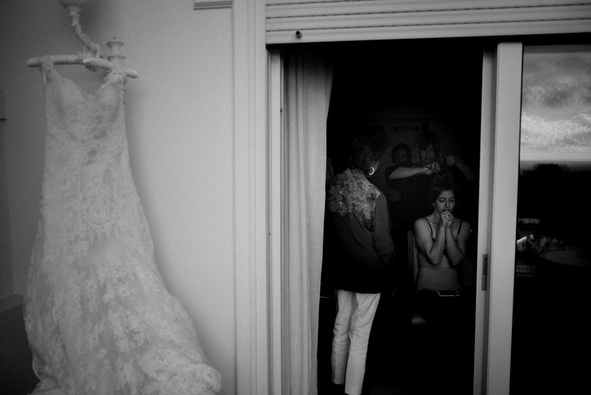 Capri wedding photographer. Jewish wedding photographer in Italy