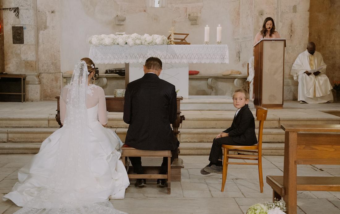 Romantic wedding video in Tuscany